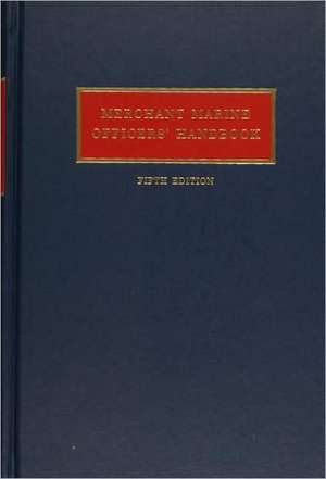 Merchant Marine Officers' Handbook de William A. MacEwen
