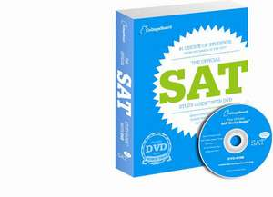 The Official SAT Study Guide with DVD [With DVD] imagine