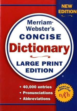 Merriam-Webster Concise Dictionary de Merriam-Webster