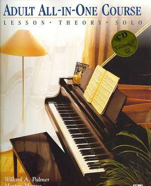 Alfred's Basic Adult All-In-One Piano Course Level 2 imagine