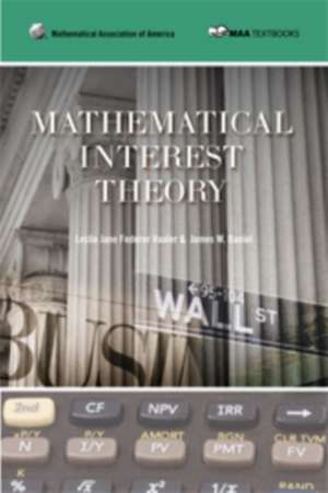 Mathematical Interest Theory