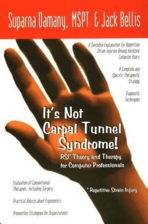 It's Not Carpal Tunnel Syndrome! imagine