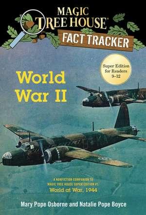 World War II de Mary Pope Osborne