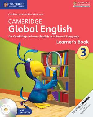 Cambridge Global English Stage 3 Learner's Book with Audio CD imagine