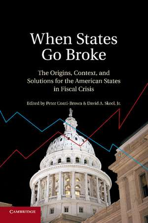 When States Go Broke: The Origins, Context, and Solutions for the American States in Fiscal Crisis de Peter Conti-Brown