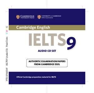 Cambridge IELTS 9 Audio CDs (2): Authentic Examination Papers from Cambridge ESOL de Cambridge ESOL