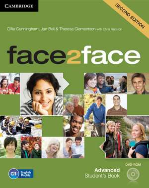 face2face Advanced Student's Book with DVD-ROM imagine