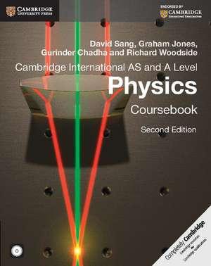 Cambridge International AS and A Level Physics Coursebook with CD-ROM de David Sang