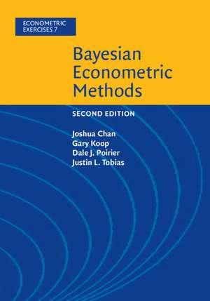Bayesian Econometric Methods de Joshua Chan