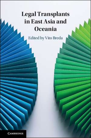 Legal Transplants in East Asia and Oceania de Vito Breda