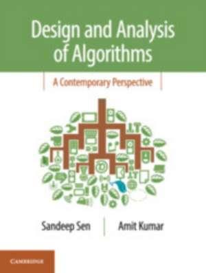 Design and Analysis of Algorithms: A Contemporary Perspective de Sandeep Sen