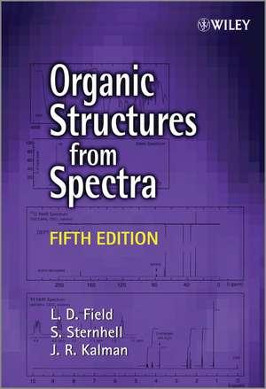 Organic Structures from Spectra de L. D. Field