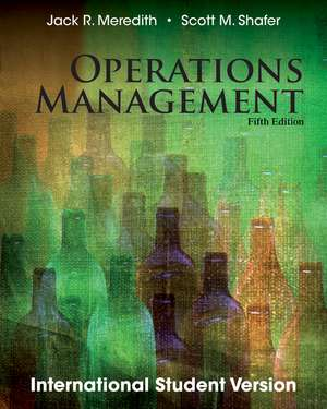 Operations Management, Fifth Edition de Jack R. Meredith