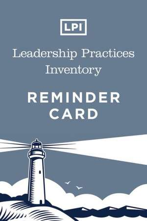 Lpi: Leadership Practices Inventory Card