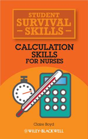 Calculation Skills for Nurses imagine
