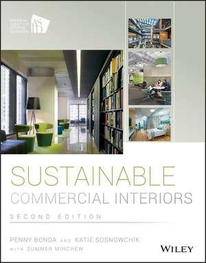 Sustainable Commercial Interiors de Penny Bonda