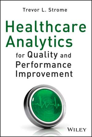 Healthcare Analytics for Quality and Performance Improvement imagine