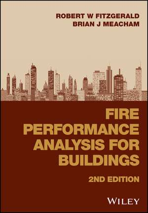 Fire Performance Analysis for Buildings de Robert W. Fitzgerald