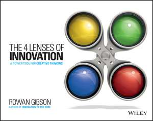 The Four Lenses of Innovation imagine