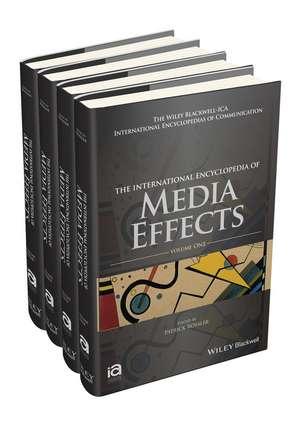 The International Encyclopedia of Media Effects