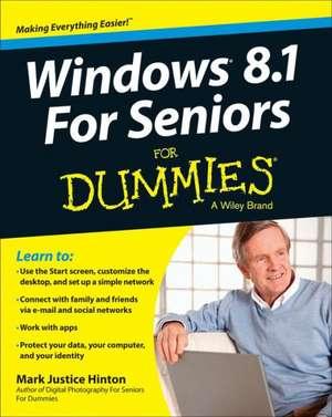 Windows 8.1 For Seniors For Dummies de Peter Weverka