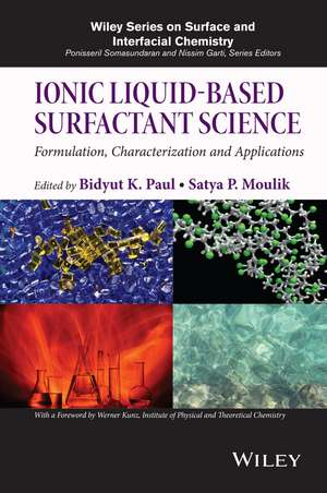 Ionic Liquid-Based Surfactant Science