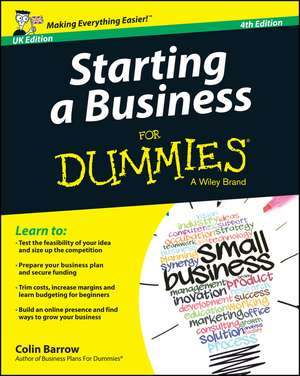 Starting a Business For Dummies – UK