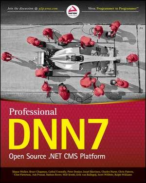Professional DNN7: Open Source .NET CMS Platform de Shaun Walker