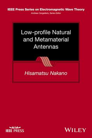 Low–profile Natural and Metamaterial Antennas