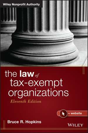 The Law of Tax–Exempt Organizations