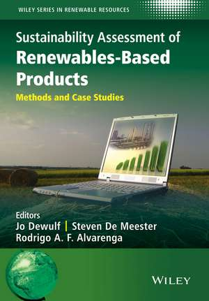 Sustainability Assessment of Renewables–Based Products