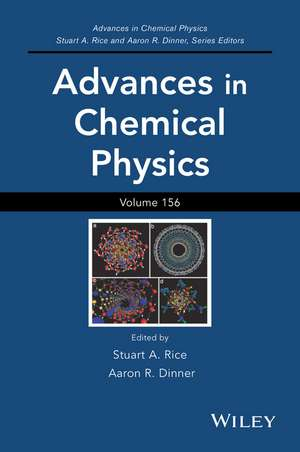 Advances in Chemical Physics, Volume 156