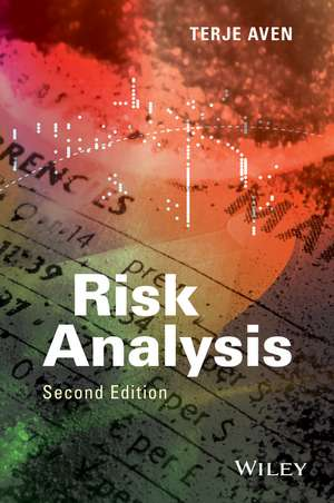 Risk Analysis de Terje Aven