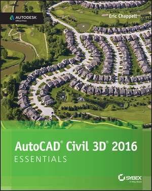 AutoCAD Civil 3D 2016 Essentials