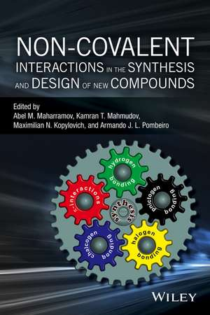 Non–covalent Interactions in the Synthesis and Design of New Compounds