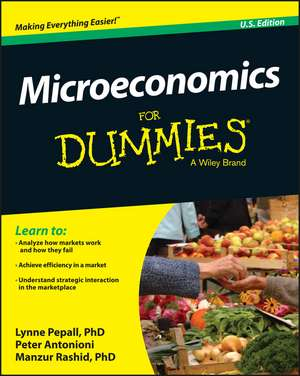 Microeconomics For Dummies de Lynne Pepall