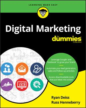 Digital Marketing For Dummies de Ryan Deiss