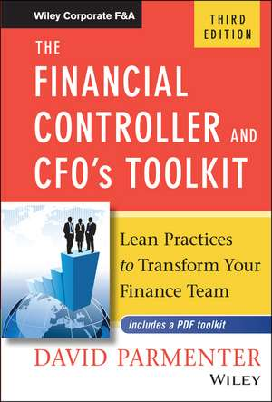 The Financial Controller and CFO′s Toolkit