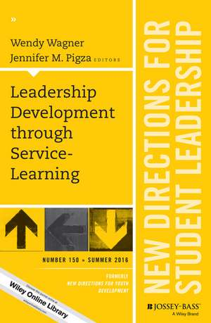 Leadership Development through Service–Learning