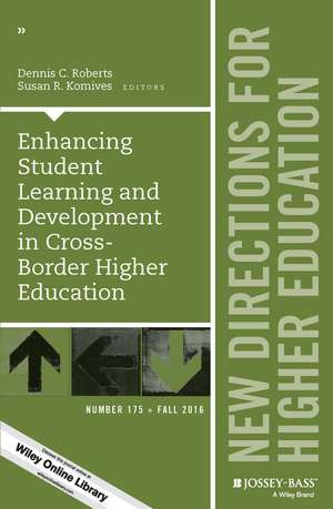 Enhancing Student Learning and Development in Cross–Border Higher Education