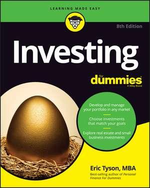 Investing For Dummies de Eric Tyson