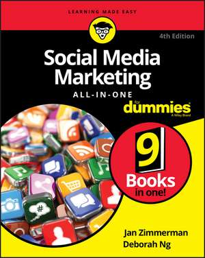 Social Media Marketing All–in–One For Dummies de Jan Zimmerman