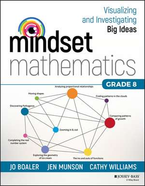 Mindset Mathematics: Visualizing and Investigating Big Ideas, Grade 8 imagine