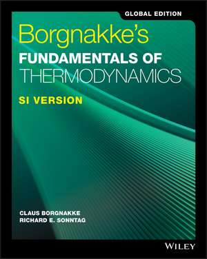 Borgnakke′s Fundamentals of Thermodynamics de Claus Borgnakke