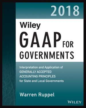 Wiley GAAP for Governments 2018