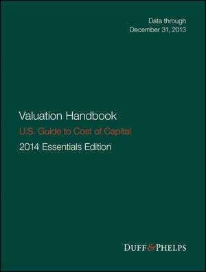 Valuation Handbook – U.S. Guide to Cost of Capital