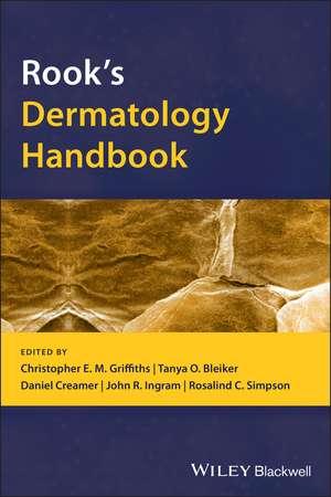 Rook's Dermatology Handbook imagine