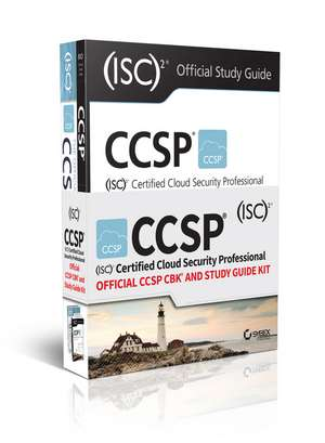 CCSP (ISC)2 Certified Cloud Security Professional Official CCSP CBK and Study Guide Kit de Brian T. O′Hara