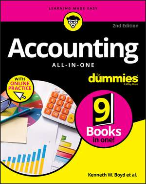 Accounting All–in–One For Dummies with Online Practice imagine