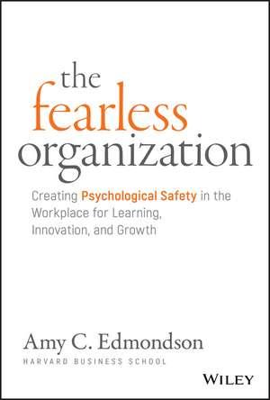 The Fearless Organization imagine